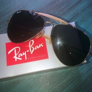 Authentic brand new ray ban sunglasses